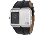 The One Watches SD102B1 Mens Slider Black Dual T..