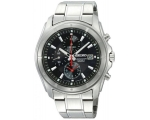 Seiko Gents Sports Black Chronograph Dial Watch ..