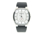 Skagen Denmark Mens Classic Leather Watch T643LSLW