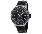 Tag Heuer F1 Black Dial Stainless Steel Mens Wat..