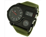 Diesel 3 Time Zones Analog-Digital Mens Watch DZ..