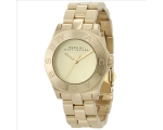 Marc by Marc Jacobs Blade Gold Dial Gold-tone La..