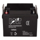 Bolt 12V/65Ah Deep Cycle Solar Rechargeable Battery