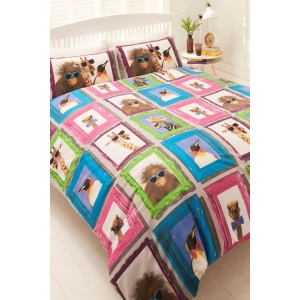 Framed Animals Duvet Se..
