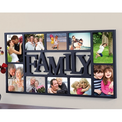 10-Piece Photo Frame title=