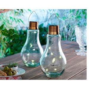 Set Of 2 Bulb Shaped La..