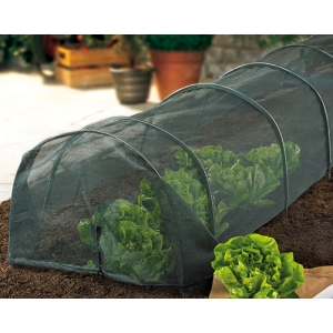 Net Covered Grow Tunnel