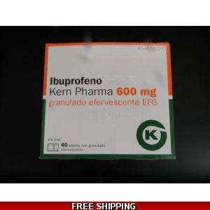 IBUPROFEN SACHETS 600mg 1 BOX OF 40 sachets