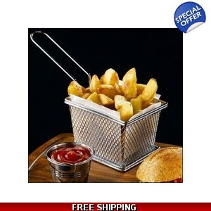 Mini Fry Basket. Stainl..