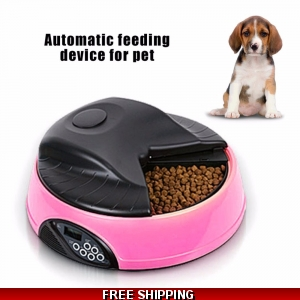 4 Meals Automatic Pet F..