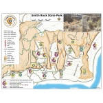 A Climber's Map for Smith Rock State Park