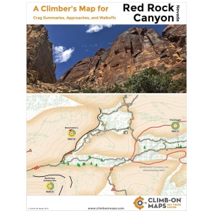 A Climber's Map for Red Rock..