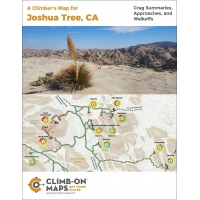 CLIMB-ON MAP - A Climber's Map for Joshua Tree