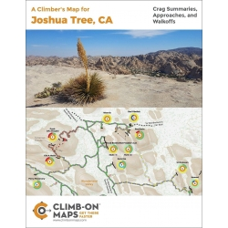A Climber's Map for Joshua Tree