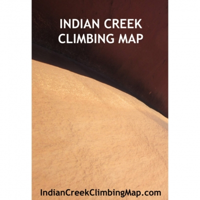 Indian Creek Climbing Map