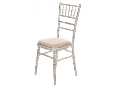 Lime Washed Chiavari Chair hire