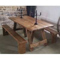 Rustic Plank Table hire
