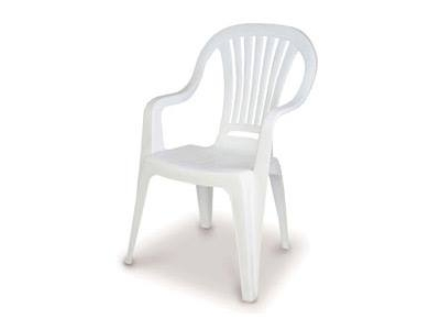 White Patio Garden Chair Hire