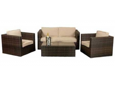 Rattan Sofa Set hire