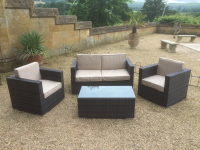 Rattan Sofa Sets for hire
