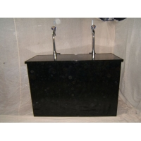 Black 5ft Bar Counter h..