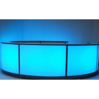 Coloured Glow Bar hire
