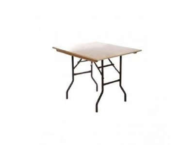 2ft6in Square Trestle Table hire