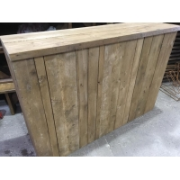 6ft Rustic Plank Bar hire