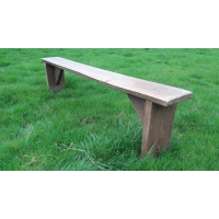 6ft Rustic Plank Bench ..