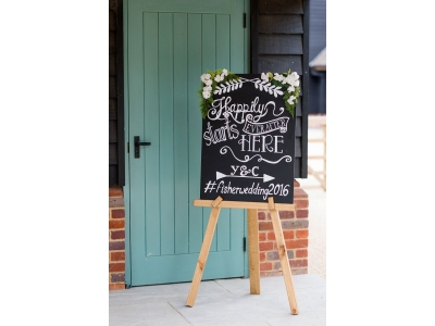 Black Board and Easel Hire
