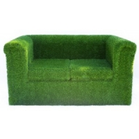 Two Seater Grass Sofa h..