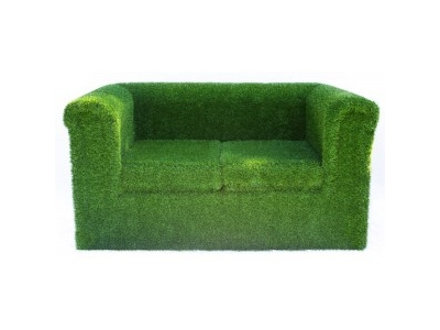 Two Seater Grass Sofa hire
