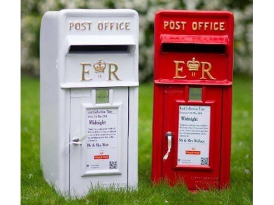 Royal Mail Red Post Box hire