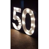 LED Number hire
