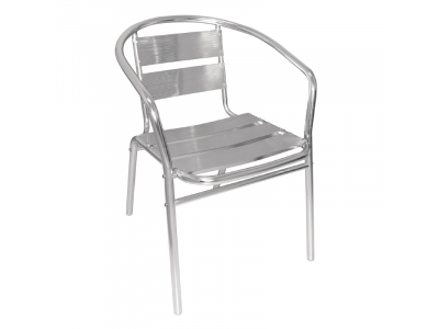 Aluminium Bistro Chair Hire