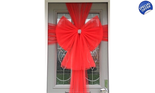 Single Bow for Inside  sc 1 st  the-elegant-door-bow & door bows