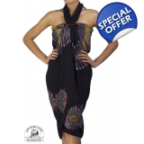 Stunning Large Tie Dye Sarong Cover-up..