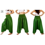 Green Romper Harem Combination Wear 2 ..