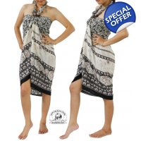 Thai Sarong with Elephant Design Summer Beach Wr..