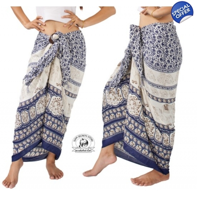 Thai Sarong with Elepha..