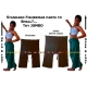 Jumbo Thai Fisherman Pants Extra Large Asian Wrap Trousers Cotton