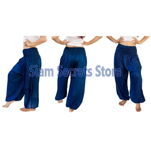 Casual Trousers Aladdin Blue Harem Pants Yoga Dance Sweatpants