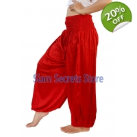 Casual Trousers Aladdin Red Harem Pants Yoga Dan..