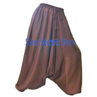 Silky Brown Baggy Pants..