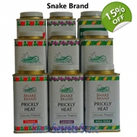 Prickly Heat Powder Original Snake Brand Hot Wea..