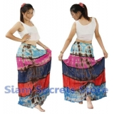 Tie Dye Summer Long Skirt Gypsy style ..