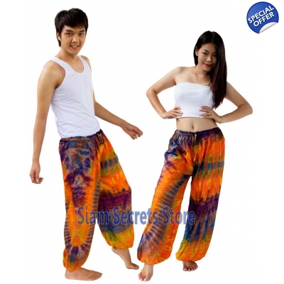 Tie Dye Hippy Trousers ..