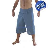 Siam Secrets Grey Fisherman Pants Capri Yoga Sho..