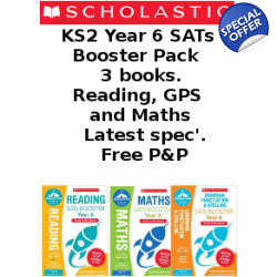 Year 6 Booster Pack [3 Books] KS2 SATs Booster B..