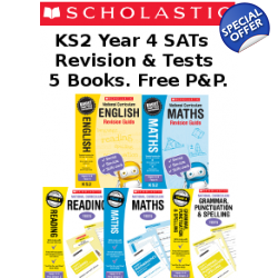 Year 4 Exam Pack [5 Books] KS2 SATs Revision Boo..